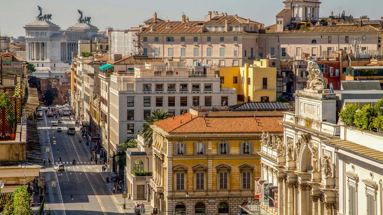 Living rome repubblica home holidays in rome center for Home page repubblica